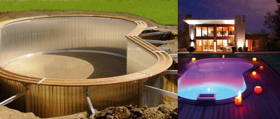 piscine structure aluminium