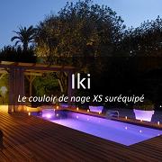 Piscinelle Iki - Couloir de nage XS suréquipé