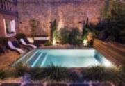 Mini piscine dans un tout petit espace dans le centre ville de Toulouse