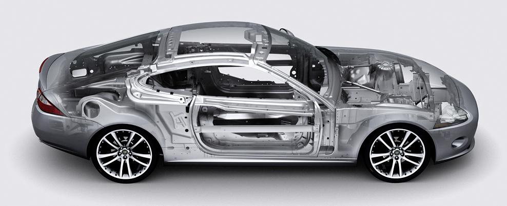 L'industrie de l'automobile et notamment Jaguar utilise beaucoup l'aluminium