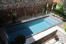 Le couloir de nage XS suréquipé Iki est la réponse idéale au défi d'un espace contraint nécessitant efficacité et allure en peu d'espace.