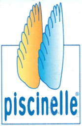 Second logo Piscinelle - 1997