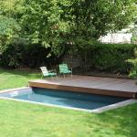 Terrasse mobile de piscine en Gif animé