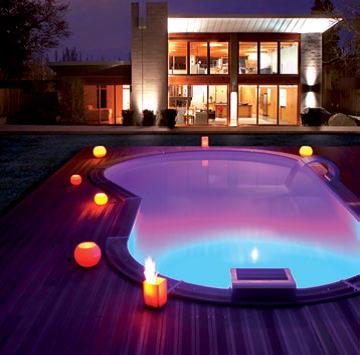 Projecteur de piscine led 12 couleurs